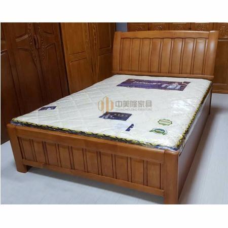 中美隆1.2米CL-01804橡木床